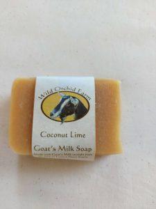 Coconut Lime Goat's Milk Soap