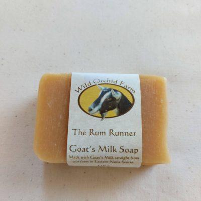 The Rum Runner Goat's Milk Soap