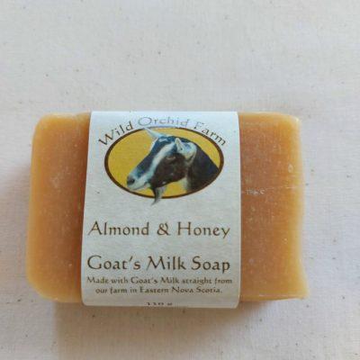 Almond Honey Goat's Milk Soap