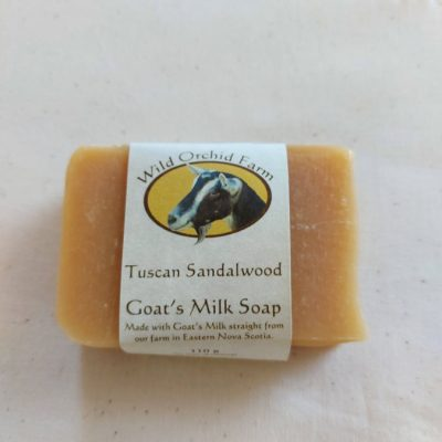 Tuscan Sandalwood Goat's Milk Soap