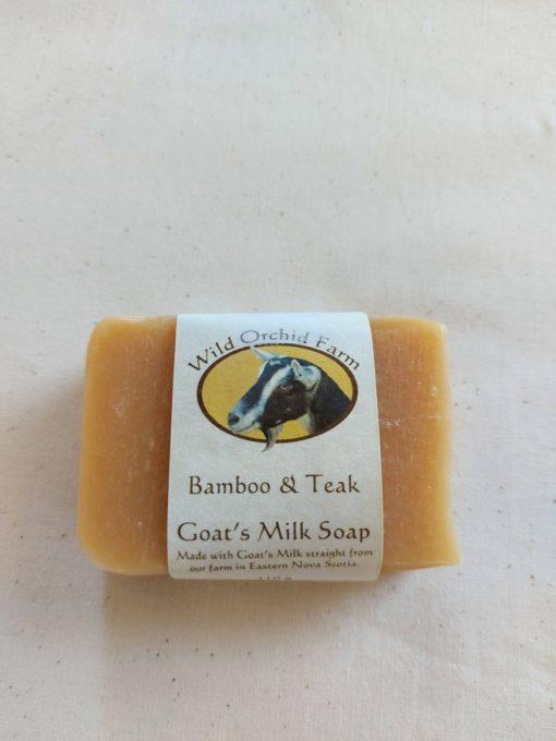 Bamboo & Teak Goat's Milk Soap
