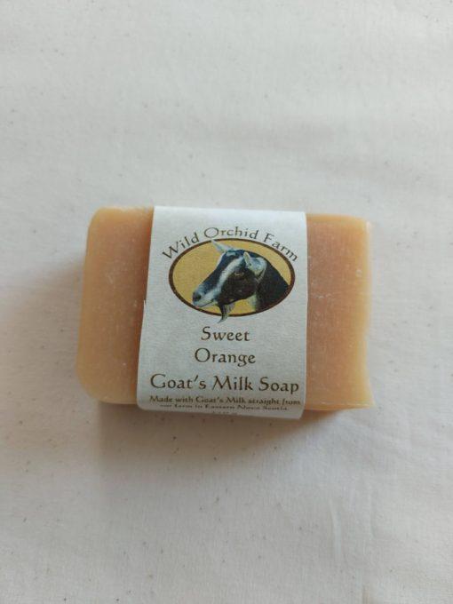 Sweet Orange Goat's Milk Soap