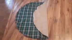 Christmas Tree Skirt Cape Breton Tartan