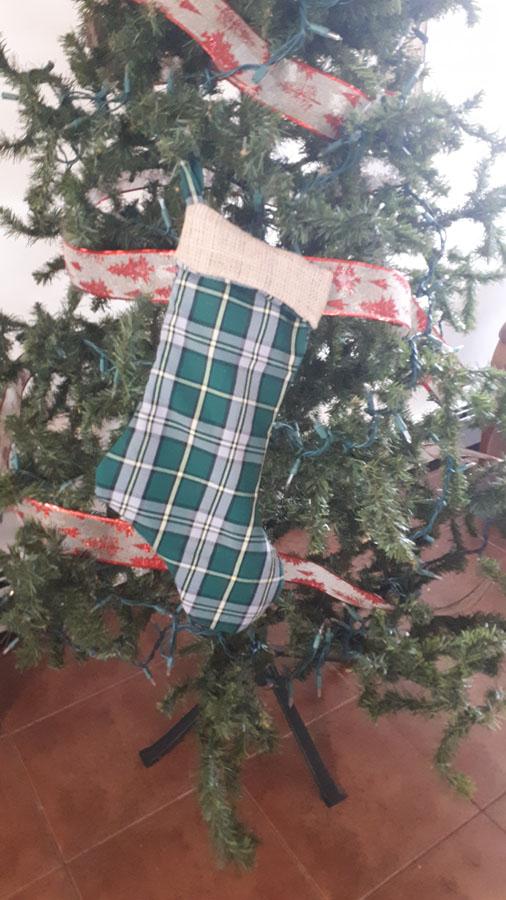 Cape Breton Tartan Christmas Stocking