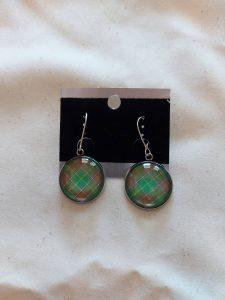 NFLD Tartan Earrings